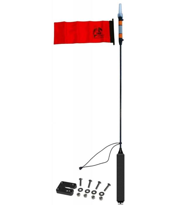 Yak-Attack VISIpole II, Includes Mighty Mount, Includes flag