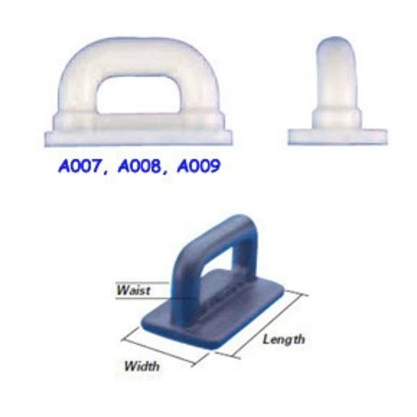 Internal Flat Sail Slides - Plastic (Pack of 5)
