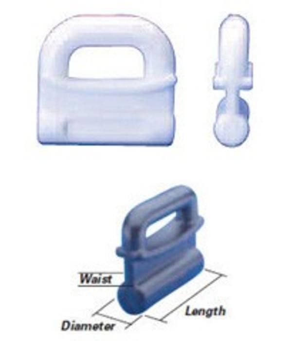 Bainbridge International Inc. Internal Slug Sail Slides - Plastic (Pack of 5)
