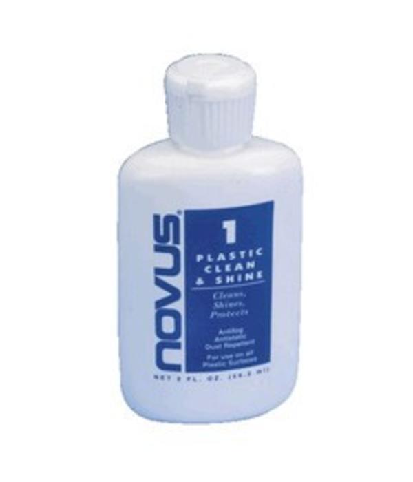 Novus #1 Plastic Clean & Shine (8oz)