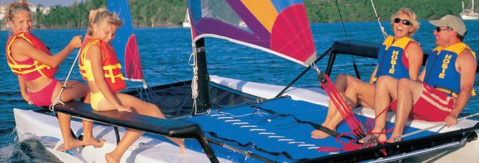 Learn to Sail a Hobie Cat