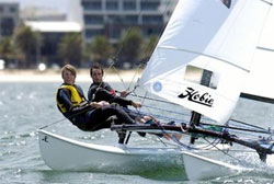 This Hobie 16 is one of hundreds of thousands that can be found world-wide.