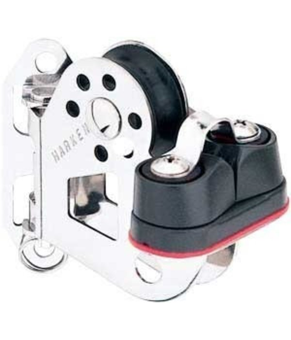Harken (Discontinued) 29mm Pivoting Lead Block w/ Cam Cleat (Replaced by HAR 396)