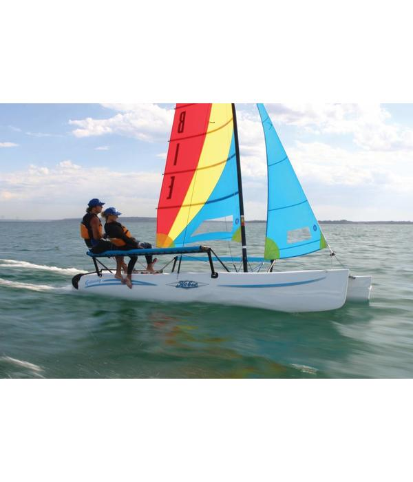 Hobie Wing Tramp Set Turq Mesh