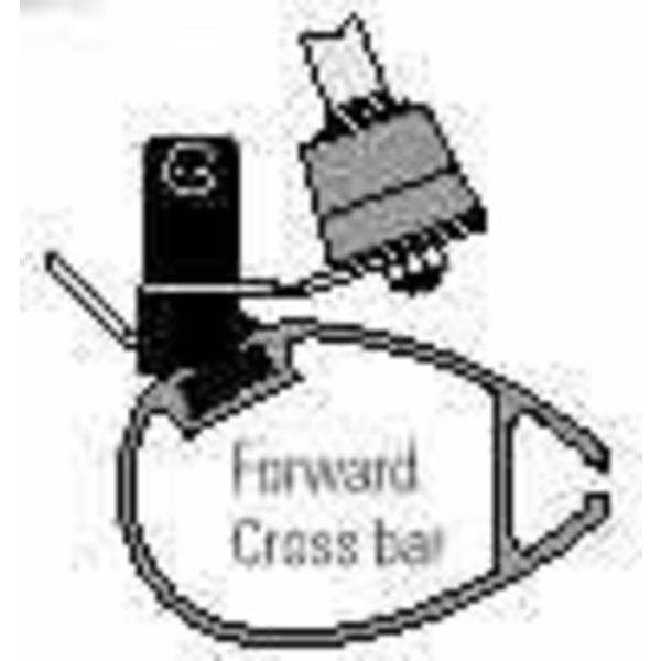 Fwd X-Bar H-16 W/Step