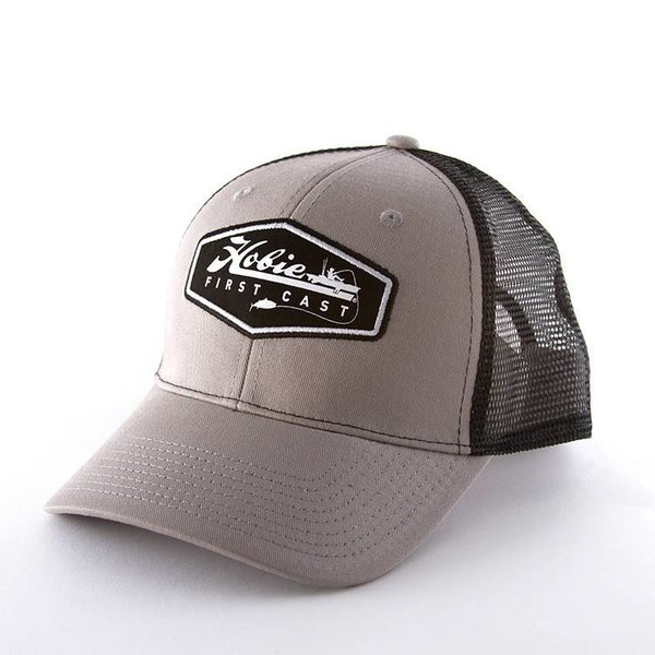 """Hobie First Cast"" Hat Grey/Black"