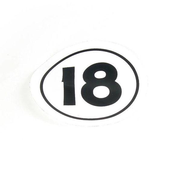 SAIL DECAL H18 CLASS INSIGNIA