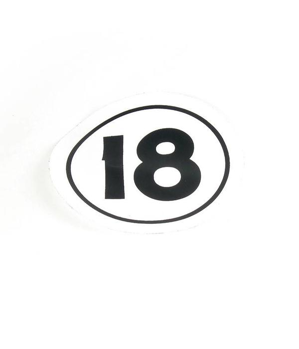 Hobie SAIL DECAL H18 CLASS INSIGNIA