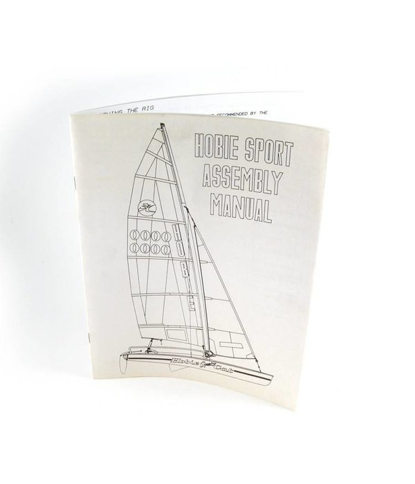 Hobie Assembly Manualh17 Sport (Cc)