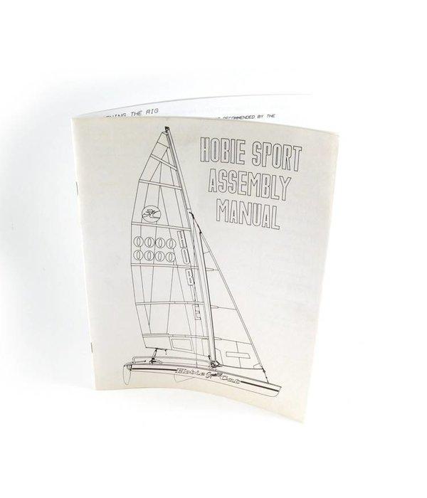 Hobie (Discontinued) Assembly Manualh17 Sport (Cc)
