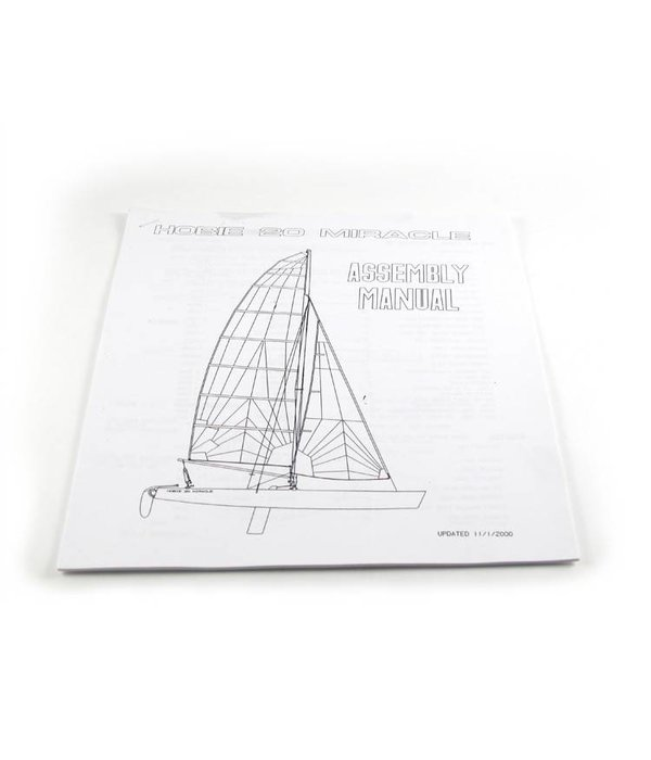 Hobie (Discontinued) Assembly Manual H20 Reprint
