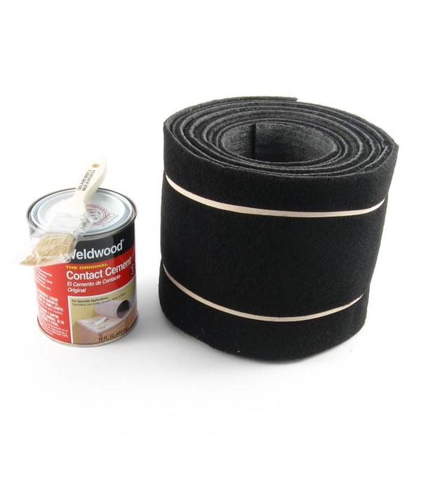 Hobie Rail Rug Carpet Kit H14&16 Blk