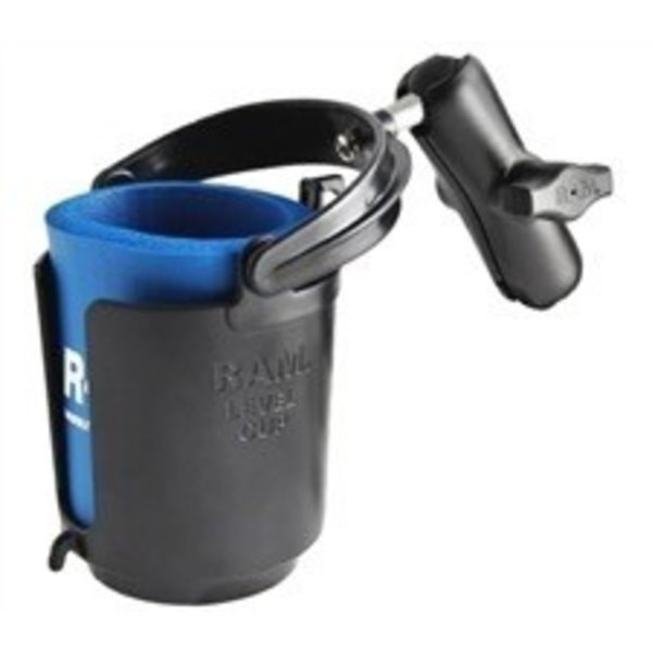 Ram Self Leveling Cup Holder 1 Connector