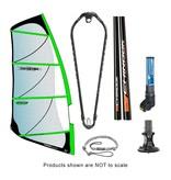 Chinook Power Glide Rig Pack With Epoxy Fiberglass Standard Diameter Mast