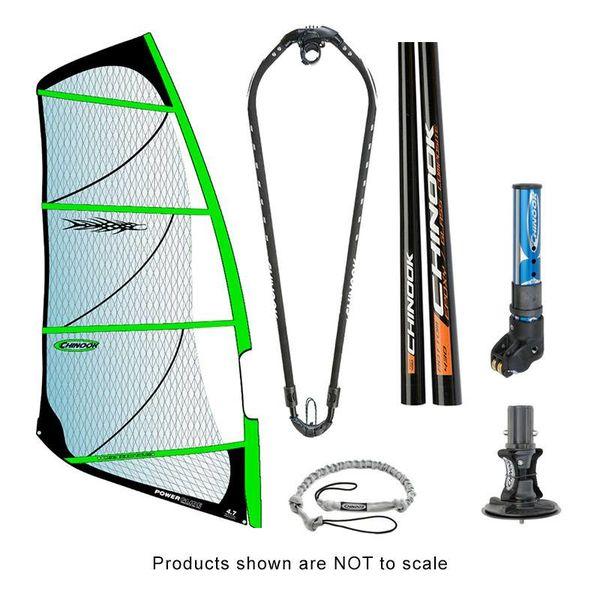 Power Glide Rig Pack w/ Epoxy Fiberglass Standard Diameter Mast