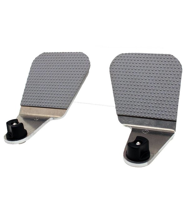 NuCanoe Foot Pegs