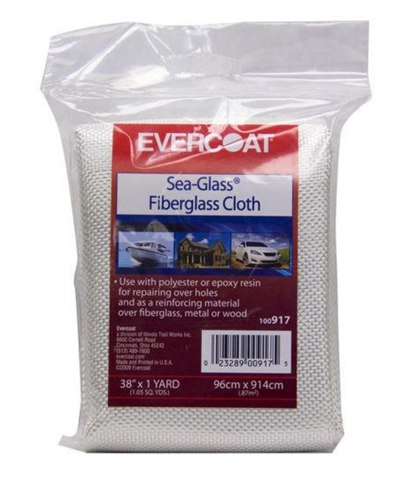 "Evercoat Fiberglass Cloth 38"" x 1Yd"