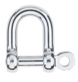 Harken Shackle D 1/4'' Pin (6mm)