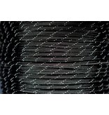 Yak-Attack USA Made 550 Paracord w/ Reflective Tracer, 1000' Spool, Black