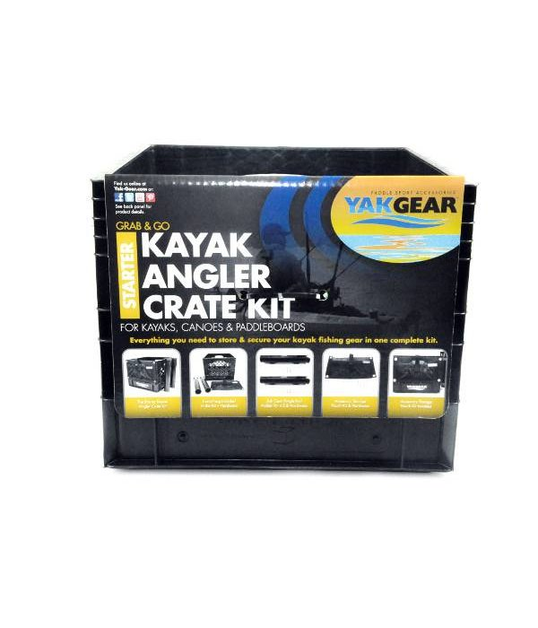 YakGear Anglers Crate Kit Starter