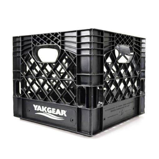 Yak-Gear Milk Crate Black 13X13