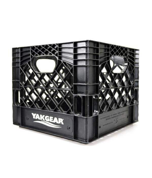 YakGear Milk Crate Black 13X13