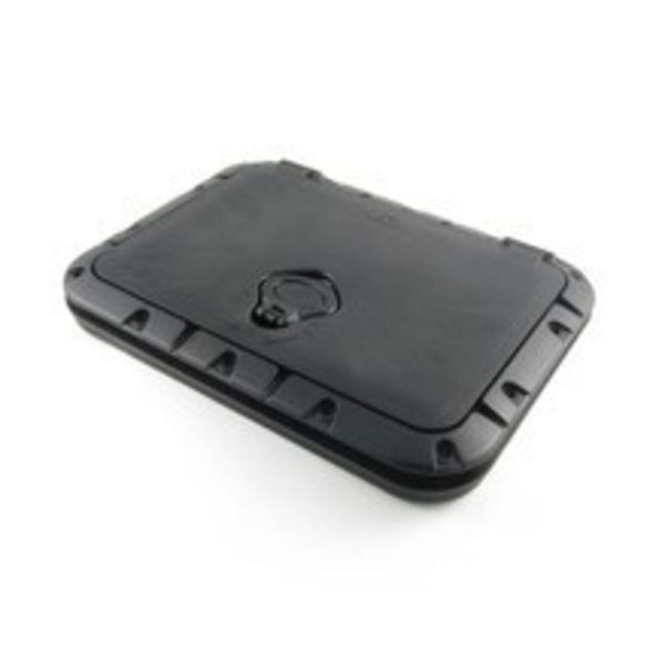 Twist-N-Seal Hatch Kit Rect Black