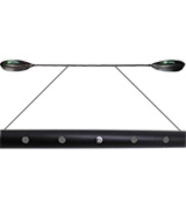 NuCanoe Wave Angler Adjustable Fiberglass Paddle