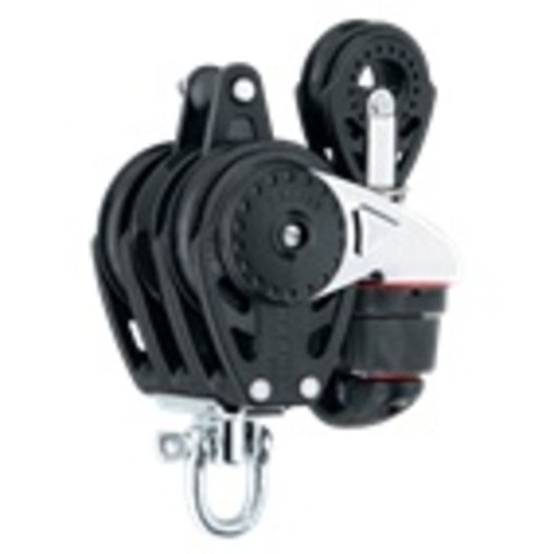Harken Block 57mm Carbo Quad With Cleat