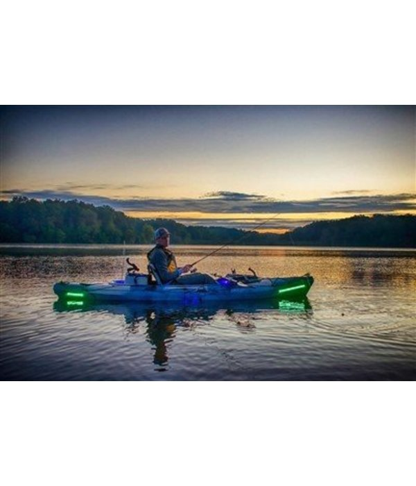 SuperNova Extreme Kayak Kit- Bow- Green, Stern-Green, Cabin-Red