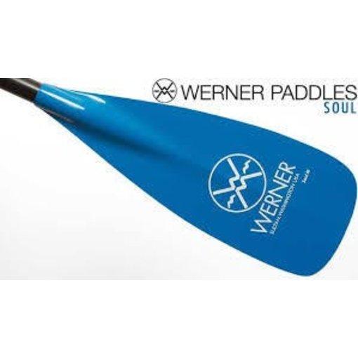 Werner Paddles (Discontinued) Paddle Soul Adj Bl 74-81.5Incf