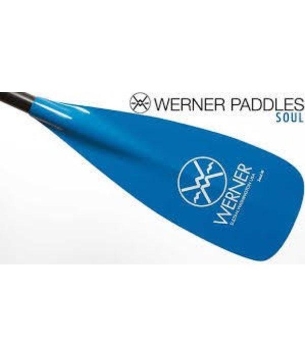 Werner Paddles Paddle Soul Adj Bl 74-81.5Incf