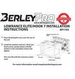 BerleyPro Lowrance Elite/Hook 7 Visor