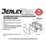 BerleyPro Lowrance HDS12 Visor