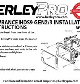 BerleyPro Lowrance HDS 9 Sun Visor