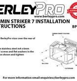 BerleyPro Garmin Striker 7 - Sun Visor
