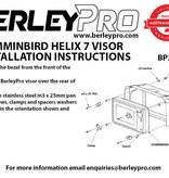 BerleyPro Humminbird Helix 7 Visor