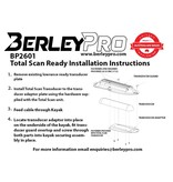 BerleyPro Lowrance TotalScan Ready Transducer Mount