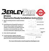 BerleyPro Raymarine Ready Transducer Mount for Hobie Kayaks