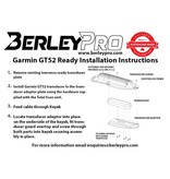 BerleyPro Garmin GT52 Ready Transducer Mount