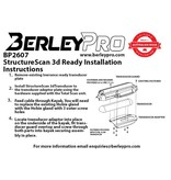 BerleyPro 3D Structure Ready Transducer Mount