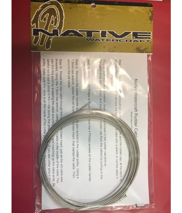 Native Watercraft Propel 10 & 13 Rudder Cable