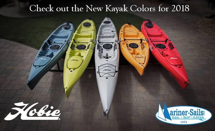New Hobie Kayak Colors!!