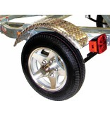 Malone MicroSportXT With Aluminum Wheels-Fenders & Retractable Tongue