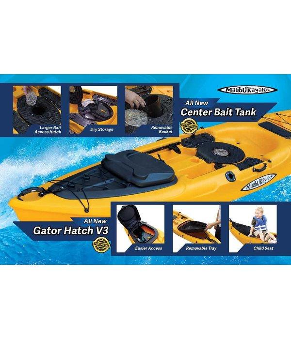 Malibu Kayaks Stealth 14 w/ X-Seat