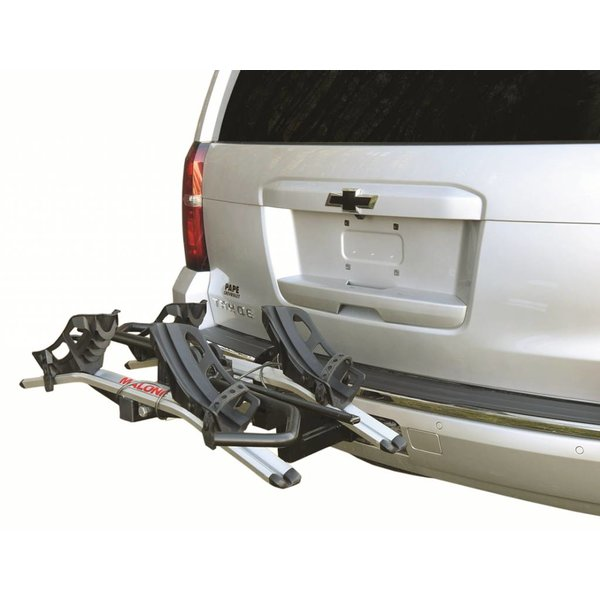 Pilot HM2 Solo - Hitch Mount Platform 2 Bike Carrier (1.25'' & 2'')