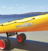 Malone Xpress Scupper Kayak Cart (with no-flat Rover beach wheels)