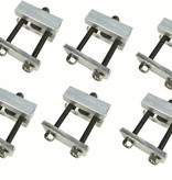 Malone Hobie Style Cradle Adapter (Set of 6)