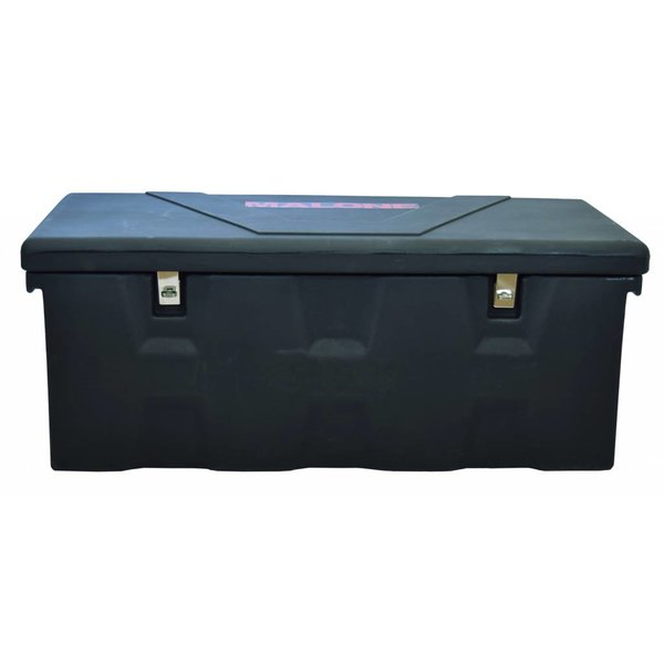 MegaSport Trailer Plastic Storage Trunk With Mounting Hardware