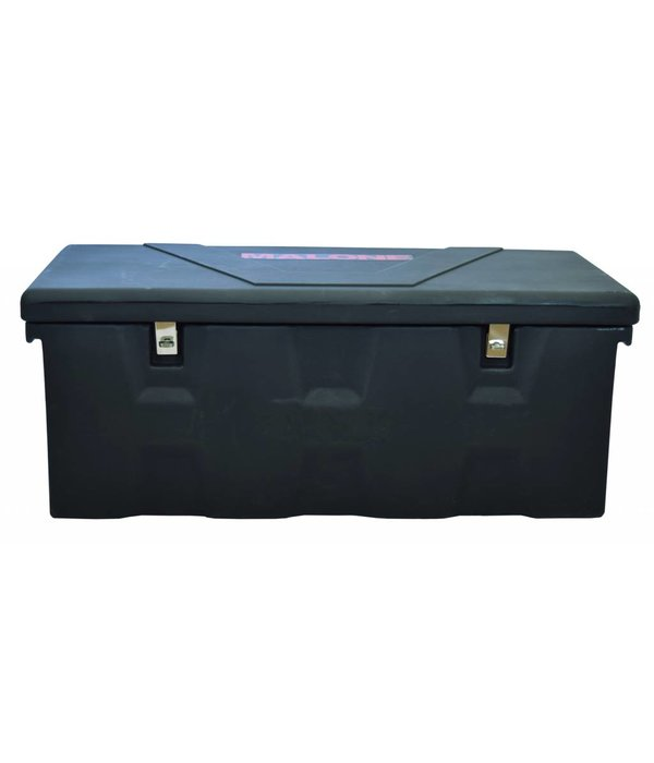 Malone MegaSport Trailer Plastic Storage Trunk With Mounting Hardware